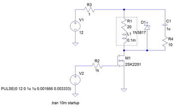 MOS-FET simulation回路.jpg