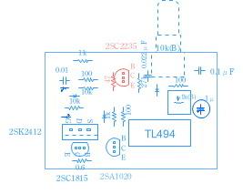 PWMコントローラ(TL494)基板部品配置.jpg