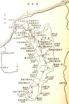 黒部川開発計画平面図'56.jpg